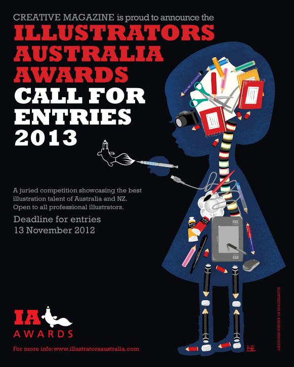 ILLUSTRATORS AUSTRALIA AWARDS 2013 WINNERS